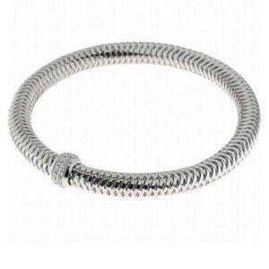 🎁 Roberto Coin🎁 18K Gold & Diamond Flex Bracelet